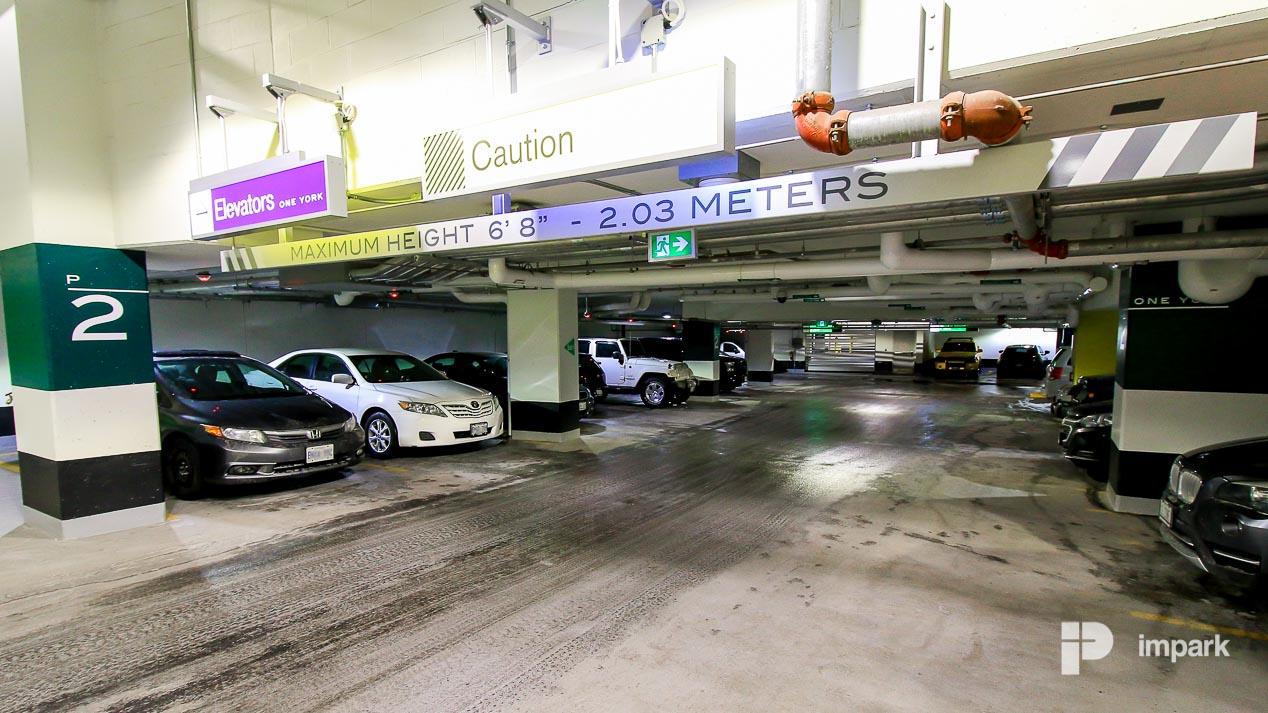 One York Parking Garage | Toronto Parking | Impark