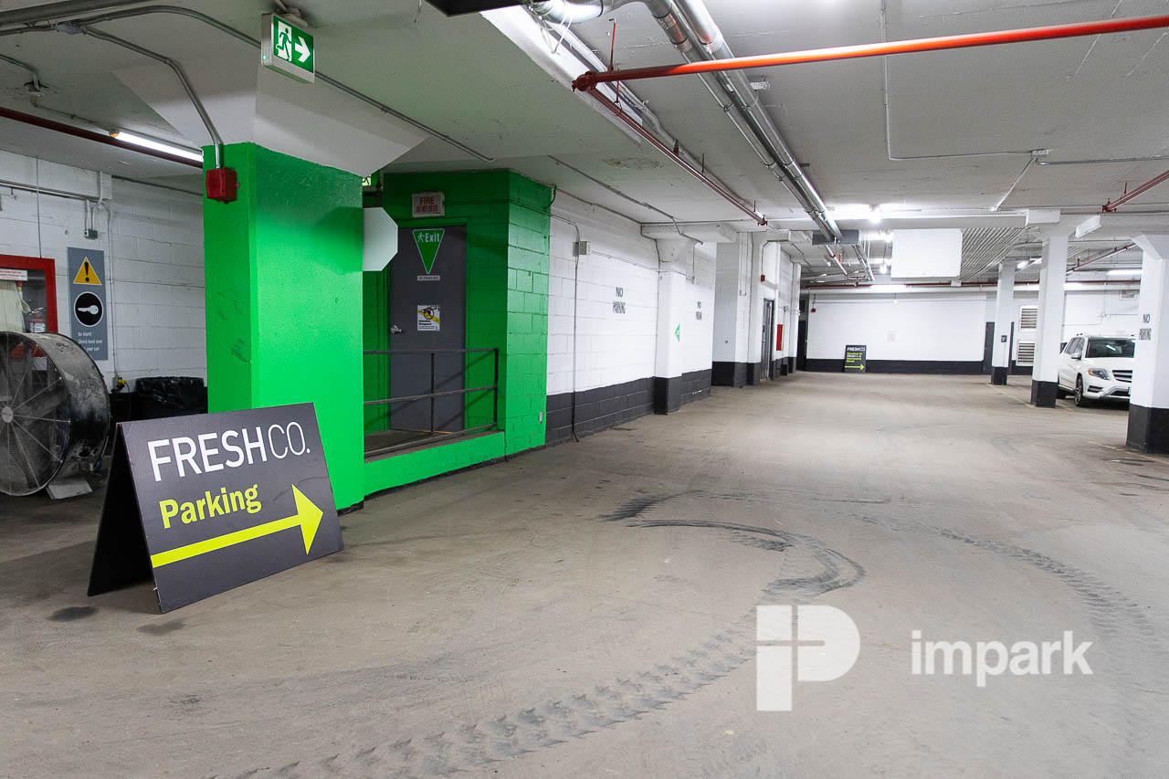 555 Sherbourne Parking Garage | Toronto Parking | Impark